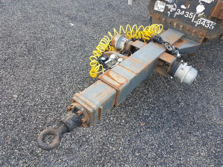 Remorque Samro Porte container Remorque 2 essieux PORTE-CAISSE MOBILE NOIR - 7