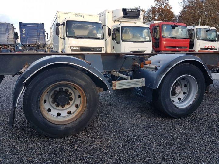 Remorque Samro Porte container Remorque 2 essieux PORTE-CAISSE MOBILE NOIR - 8