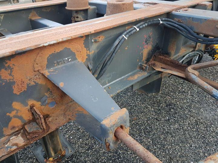 Remorque Samro Porte container Remorque 2 essieux PORTE-CAISSE MOBILE NOIR - 13