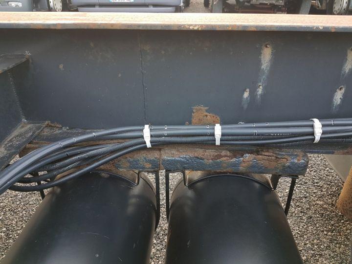 Remorque Samro Porte container Remorque 2 essieux PORTE-CAISSE MOBILE NOIR - 16