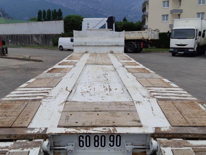 Remorque Actm Porte engins Semi-remorque porte-engins 4E ACTM Blanc - 8