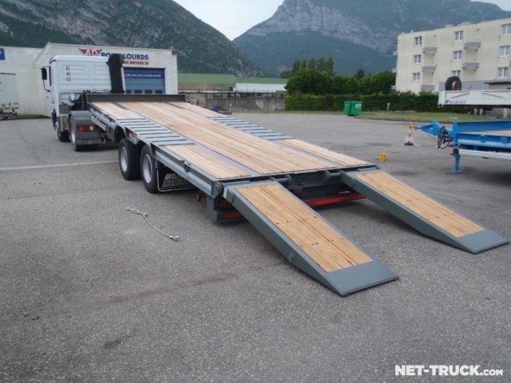 Remorque AMC Castera Porte engins RAL 7012 GRIS - 1