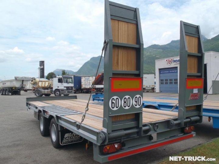 Remorque AMC Castera Porte engins RAL 7012 GRIS - 3