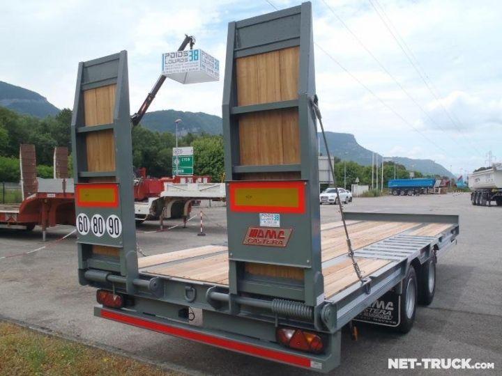 Remorque AMC Castera Porte engins RAL 7012 GRIS - 4