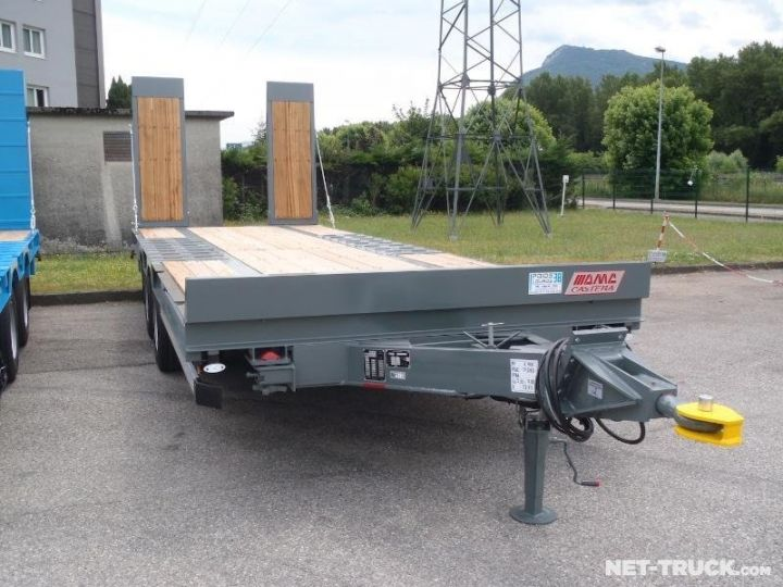 Remorque AMC Castera Porte engins RAL 7012 GRIS - 6