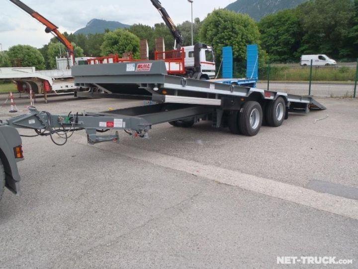 Remorque AMC Castera Porte engins RAL 7012 GRIS - 7
