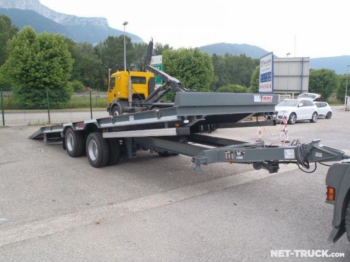 Remorque AMC Castera Porte engins RAL 7012 GRIS - 8