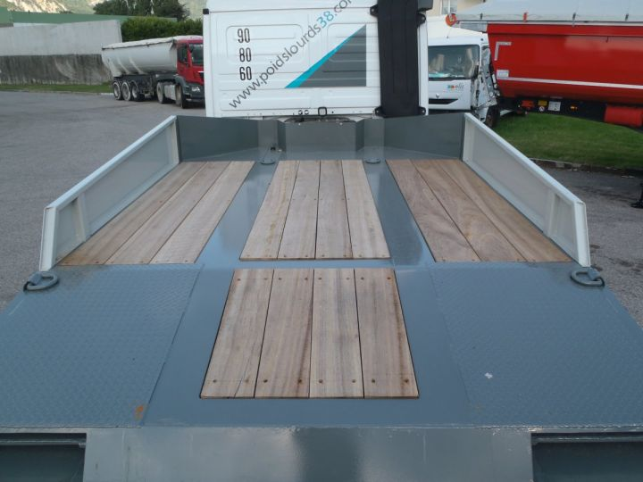 Remorque AMC Castera Porte engins Semi porte-engins 3E NEUVE et DISPO GRIS RAL 7012 - 5