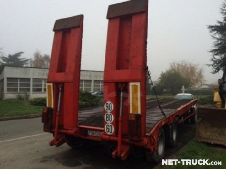 Remorque Louault Porte engins  - 4