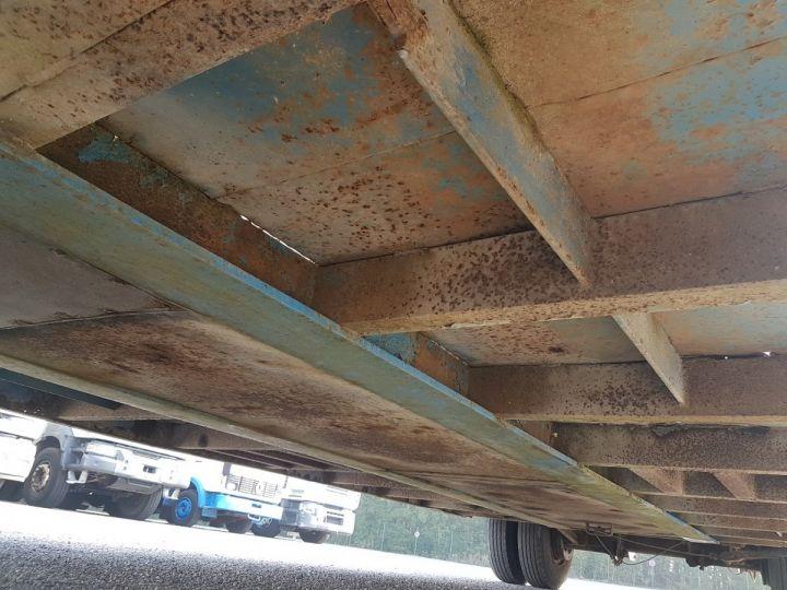 Remorque Samro Porte engins PORTE-ENGINS 2 essieux BLANC - BLEU - 16
