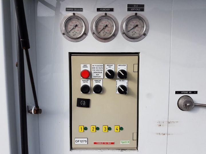 Remorque Citerne Pulvérulents T.S.C.I. 4 compartiments BLANC Occasion - 20