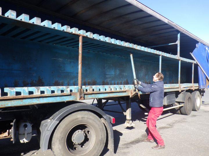 Remorque Fruehauf Rideaux coulissants Bleu - 5
