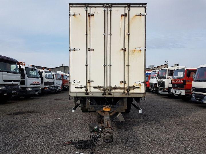 Remorque Fruehauf Rideaux coulissants P.L.S.C. RIDELLES - 3 essieux BLANC - NOIR - GRIS - 9
