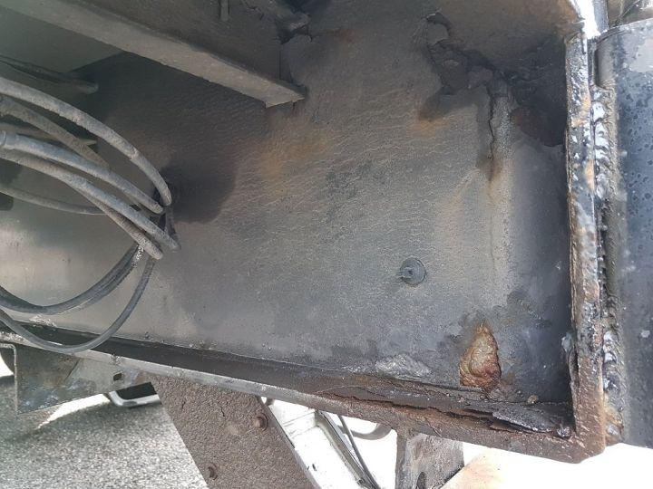 Remorque Fruehauf Rideaux coulissants P.L.S.C. RIDELLES - 3 essieux BLANC - NOIR - GRIS - 11