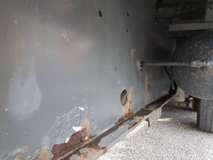 Remorque Fruehauf Rideaux coulissants P.L.S.C. RIDELLES - 3 essieux BLANC - NOIR - GRIS - 15