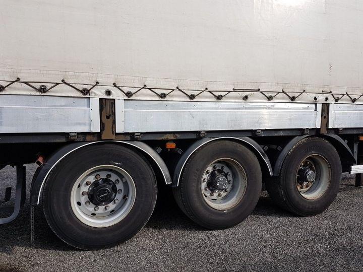Remorque Fruehauf Rideaux coulissants P.L.S.C. RIDELLES - 3 essieux BLANC - NOIR - GRIS - 19