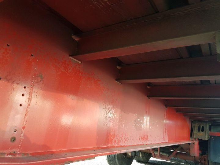 Remorque Fruehauf TX 34 Rideaux coulissants P.L.S.C. à ridelles + HAYON BLANC ET ROUGE - 13