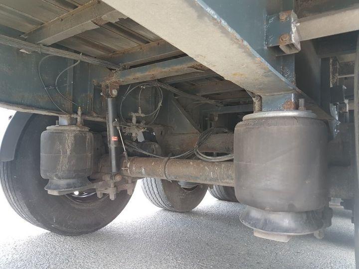 Remorque Fruehauf TX 34 Rideaux coulissants P.L.S.C. MaxiSpeed 3 essieux BLANC - NOIR - 16