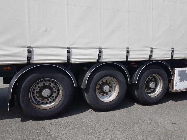Remorque Fruehauf TX 34 Rideaux coulissants P.L.S.C. MaxiSpeed 3 essieux BLANC - NOIR - 19