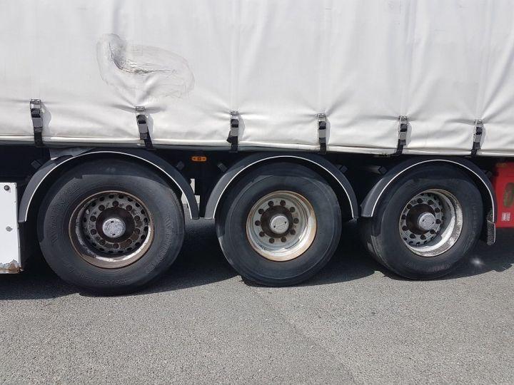 Remorque Fruehauf TX 34 Rideaux coulissants P.L.S.C. MaxiSpeed 3 essieux BLANC - NOIR - 20