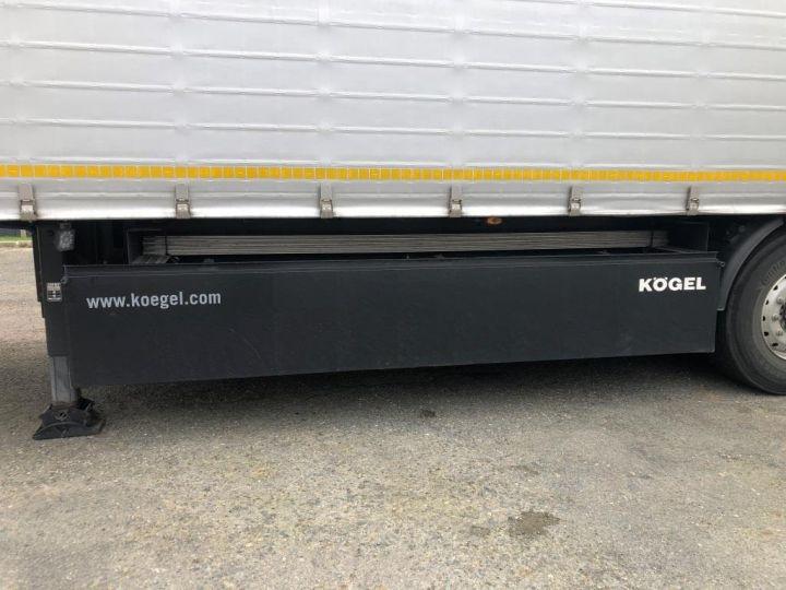 Remorque Kogel Rideaux coulissants 3 ESSIEUX PLSC HAYON ELEVATEUR GRIS - 12