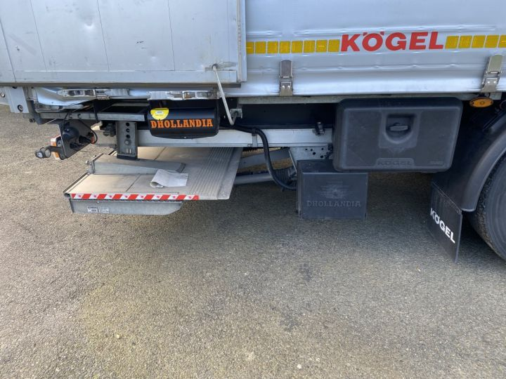 Remorque Kogel Rideaux coulissants 3 ESSIEUX PLSC HAYON ELEVATEUR GRIS - 15