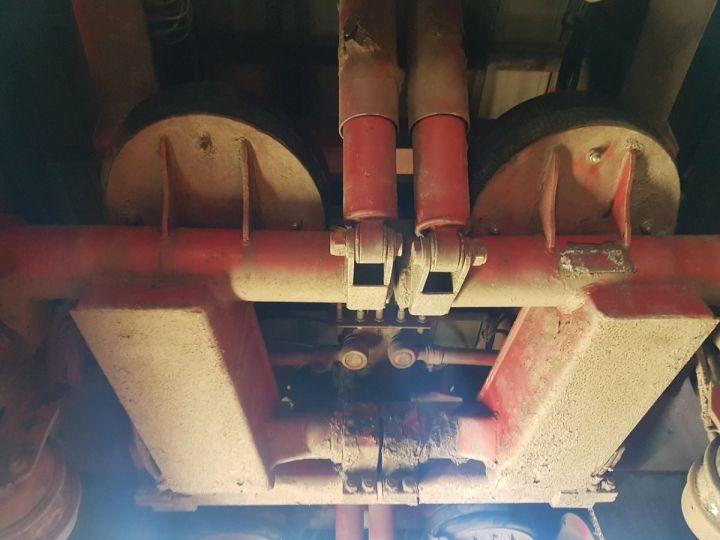 Remorque Leveques Rideaux coulissants P.L.S.C. 10m40 PORTE-CHARIOT MANITOU BLANC - ROUGE - 16