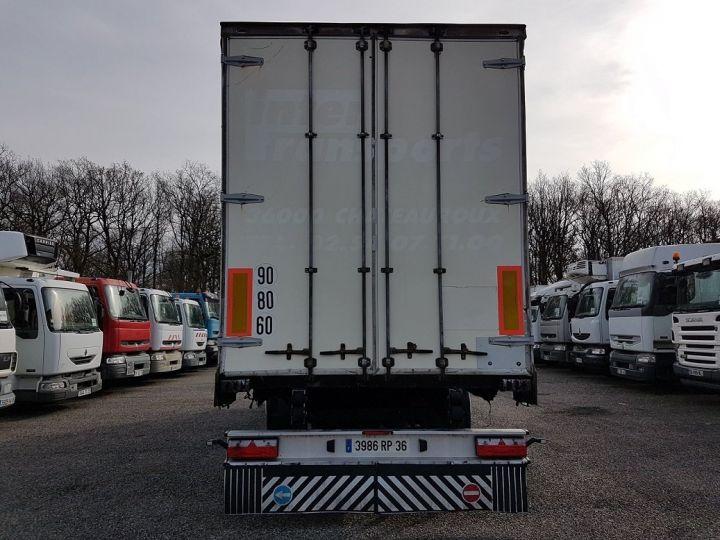 Remorque Rideaux coulissants P.L.S.C. RIDELLES - 3 essieux BLANC - NOIR - GRIS Occasion - 5