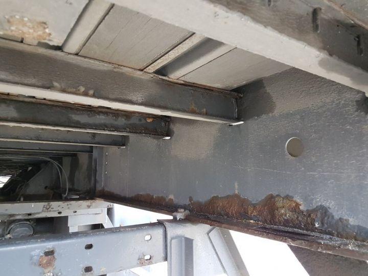 Remorque Rideaux coulissants P.L.S.C. RIDELLES - 3 essieux BLANC - NOIR - GRIS Occasion - 12