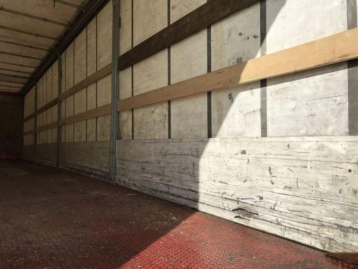 Remorque Rideaux coulissants RIDELLES et HAYON ELEVATEUR BLANC et ROUGE Occasion - 7