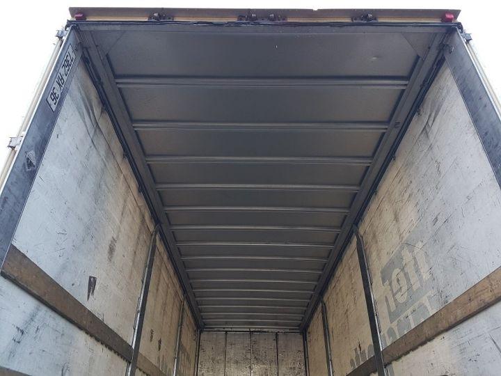 Remorque Samro Rideaux coulissants Remorque 3 essieux P.L.S.C. à ridelles 8m20 BLANC - GRIS - NOIR - 8