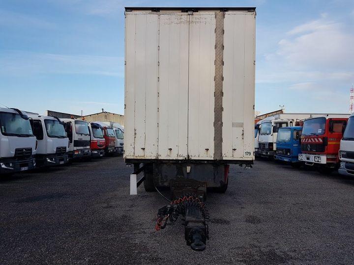 Remorque Samro Rideaux coulissants Remorque 3 essieux P.L.S.C. à ridelles 8m20 BLANC - GRIS - NOIR - 9