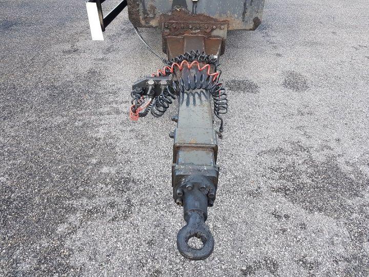 Remorque Samro Rideaux coulissants Remorque 3 essieux P.L.S.C. à ridelles 8m20 BLANC - GRIS - NOIR - 10