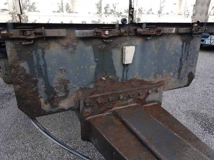Remorque Samro Rideaux coulissants Remorque 3 essieux P.L.S.C. à ridelles 8m20 BLANC - GRIS - NOIR - 11