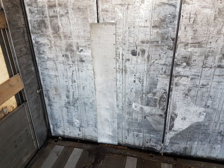 Remorque Samro Rideaux coulissants Remorque 3 essieux P.L.S.C. à ridelles 8m20 BLANC - GRIS - NOIR - 14