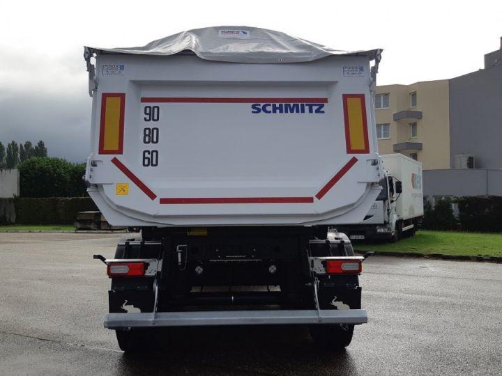 Remorque Schmitz Benne acier renforcée DISPO Blanche - 5