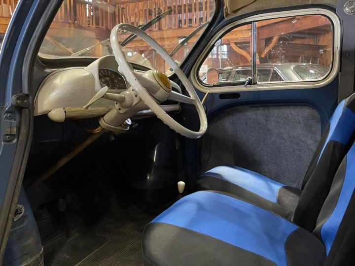 Renault 4CV Strictement d'origine ! Bleu - 5