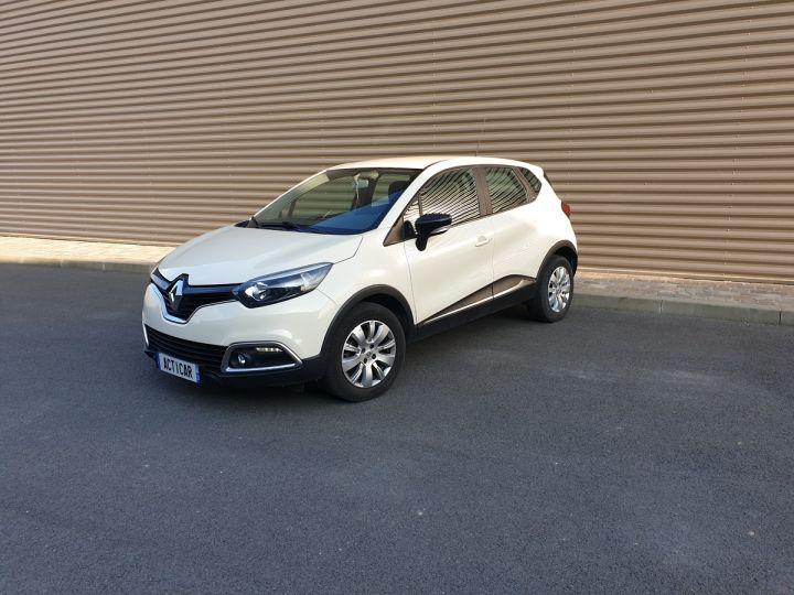 Renault Captur 1.5 dci 90 zen edc bva i Blanc Occasion - 1