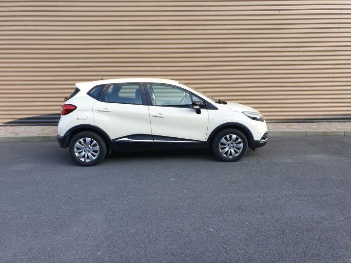 Renault Captur 1.5 dci 90 zen edc bva i Blanc Occasion - 3