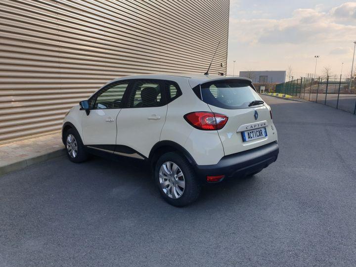 Renault Captur 1.5 dci 90 zen edc bva ii Blanc Occasion - 7