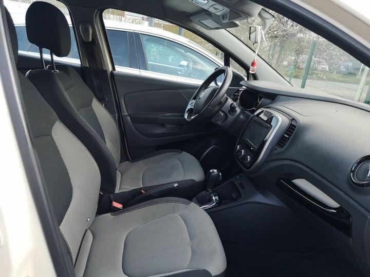 Renault Captur 1.5 dci 90 zen edc bva ii Blanc Occasion - 11