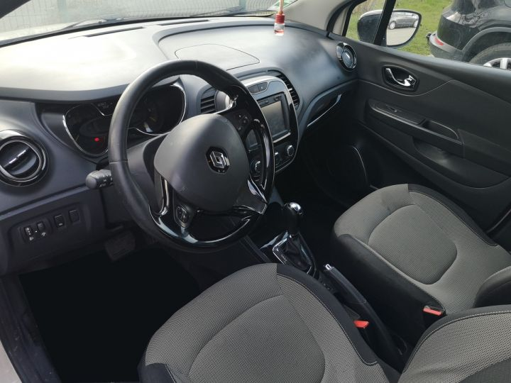 Renault Captur 1.5 dci 90 zen edc bva ii Blanc Occasion - 12