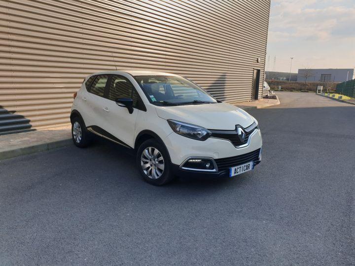 Renault Captur 1.5 dci 90 zen edc bva iiii Blanc Occasion - 2