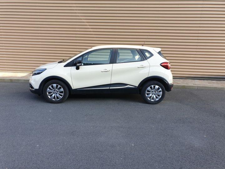 Renault Captur 1.5 dci 90 zen edc bva iiii Blanc Occasion - 4