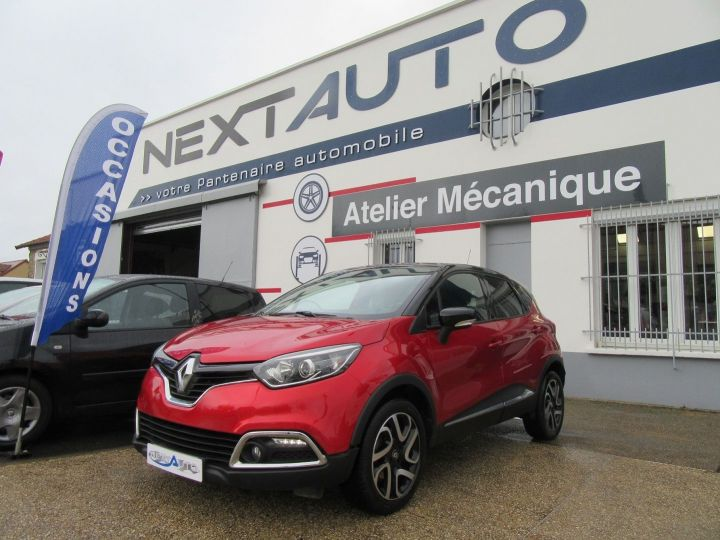 Renault Captur 1.5 DCI 90CH ENERGY INTENS ECO² Rouge Occasion - 1