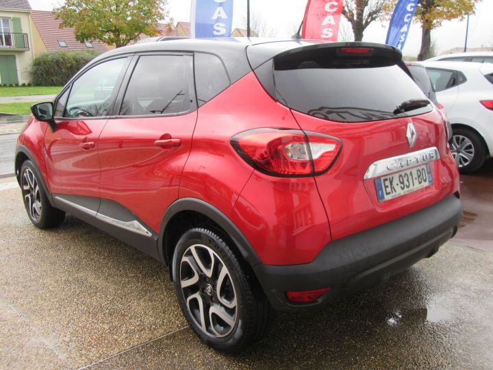 Renault Captur 1.5 DCI 90CH ENERGY INTENS ECO² Rouge Occasion - 3