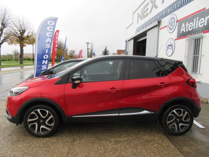 Renault Captur 1.5 DCI 90CH ENERGY INTENS ECO² Rouge Occasion - 5
