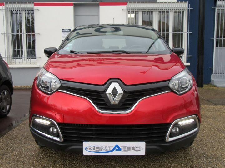 Renault Captur 1.5 DCI 90CH ENERGY INTENS ECO² Rouge Occasion - 6