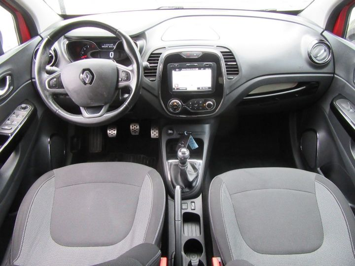 Renault Captur 1.5 DCI 90CH ENERGY INTENS ECO² Rouge Occasion - 8