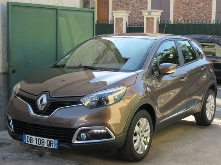 Renault CAPTUR 1.5 DCI 90CH STOP&START ENERGY BUSINESS ECO MARRON Occasion - 1